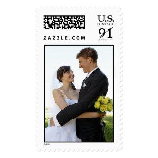 Wedding Elegant Invites Bigger Postage Stamp