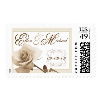 Wedding - Elegant Script Custom Postage
