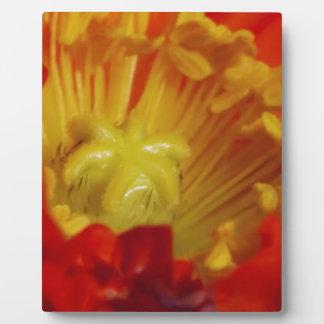 Wedding Engagement Gifts Gold Flower Pollen Core Photo Plaque
