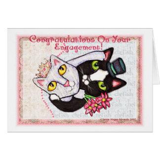 Wedding Engagement Greeting Card