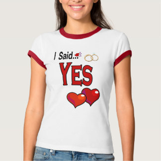 Wedding Engagement (Hers) Apparel T-Shirt
