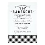 "Wedding Engagement Party Invitation   ""I Do"" BBQ"