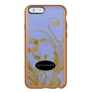 Wedding Engraved Foliage Scroll Swirl Flourishes Incipio Feather® Shine iPhone 6 Case