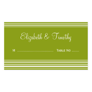 Wedding Escort Cards Double-Sided Standard Business Cards (Pack Of 100)
