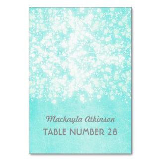 Tiffany Blue String Lights : Escort Cards Zazzle