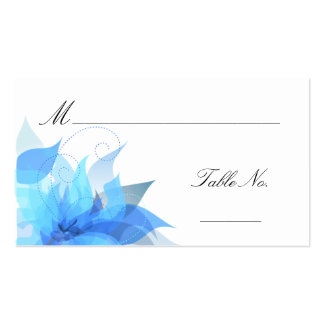 Wedding Escort Guest Place Cards Double-Sided Standard Business Cards (Pack Of 100)