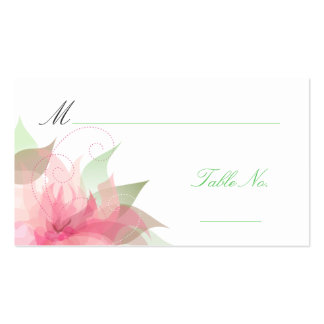 Wedding Escort Guest Place Cards Business Card Templates