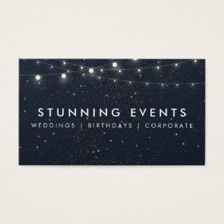 Wedding & Event Planner Business Card