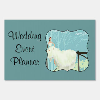 Wedding Event Planner Sign