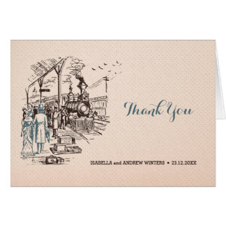 Wedding Express - Wedding Thank You Card