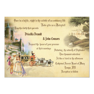Wedding Fantasy fairytale,unique creation,romantic Card