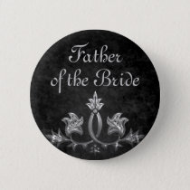 Wedding Father of bride Pinback Button