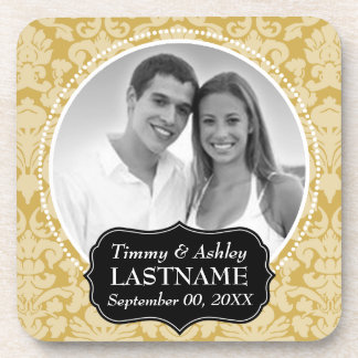 Wedding Favor - Anniversary Keepsake Beverage Coaster