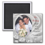 Wedding Favor diamonds photo Magnet
