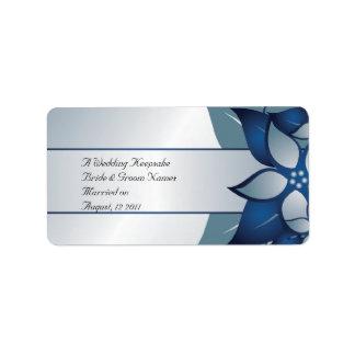 Wedding Favor Lip Balm Tube Address Label