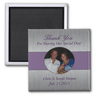 Wedding Favor Picture Magnet