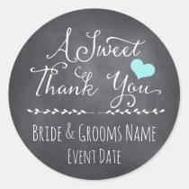 WEDDING FAVOR STICKER | A Sweet Thank You