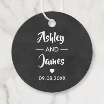 Wedding Favor Tags Personalized with Names