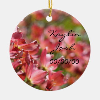 Wedding Favors gifts Today Tomorrow Always Forever Ceramic Ornament