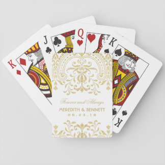 Wedding Favors | Gold Vintage Glamour Playing Cards