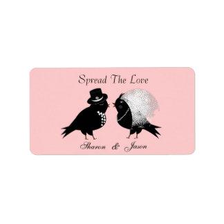 Wedding Favors Jam Jar Labels Spread The Love
