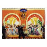 Wedding Feast, 1917 Greeting Card