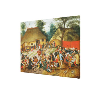 Wedding Feast Stretched Canvas Prints