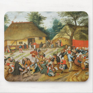 Wedding Feast Mouse Pad