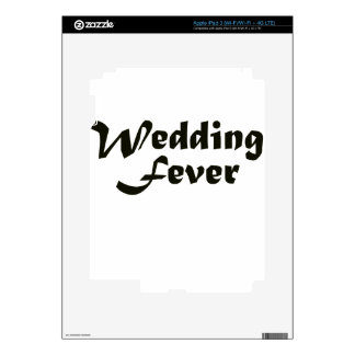 Wedding Fever Skin For iPad 3