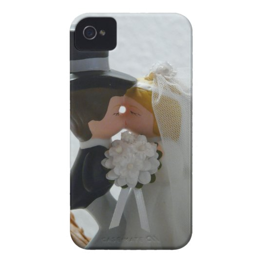 Wedding Figures iPhone 4 Cover