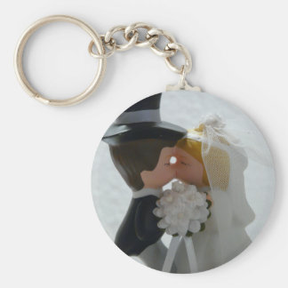 Wedding Figures Keychain