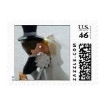 Wedding Figures Postage Stamps