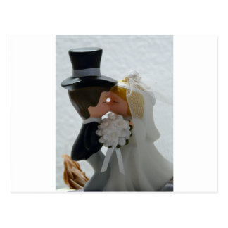 Wedding Figures Postcard