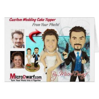 Wedding Figurines Greeting Cards