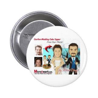 Wedding Figurines Pinback Button