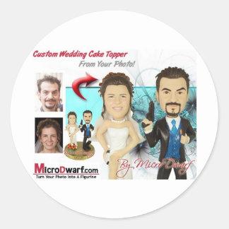 Wedding Figurines Sticker