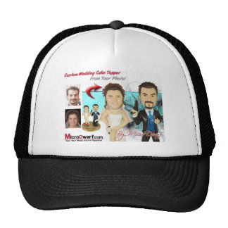 Wedding Figurines Trucker Hat