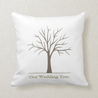Wedding Fingerprint Tree - Pillow
