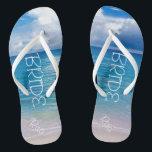 b82864c0943093 Custom Wedding Flip Flops