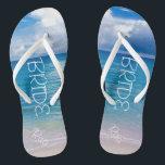 ade3899b2 Custom Wedding Flip Flops