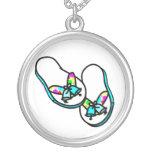 Wedding Flip Flops Necklace