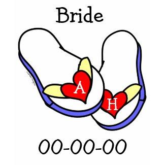 Summer Bridal shirt