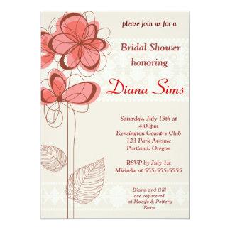 Wedding Floral Bridal Shower Invite - Customized