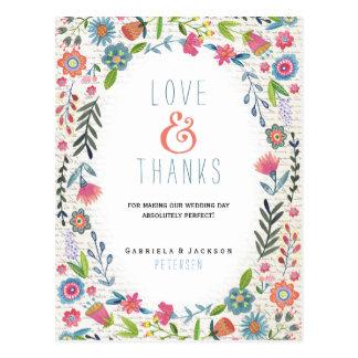 Wedding Floral Fun | Thank you Card
