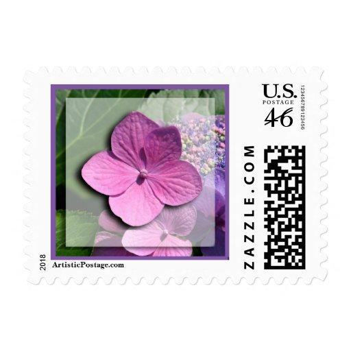 Wedding Floral Postage Stamp
