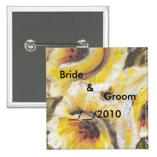 wedding floral set pin