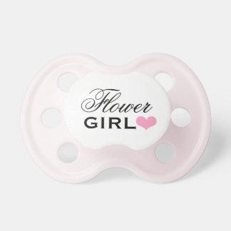 Wedding Flower Girl   Girl's Custom Baby Pacifier