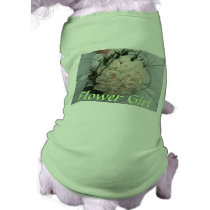 Wedding Flower Girl Pet Clothing