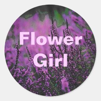 Wedding (Flower Girl) Sticker