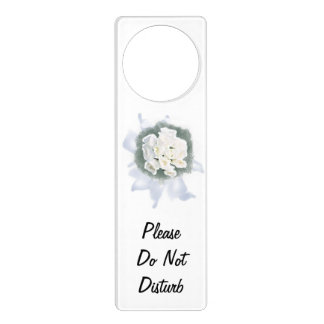 wedding flower - please do not disturb door knob hanger